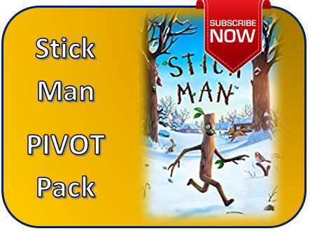 Stick Man with tag