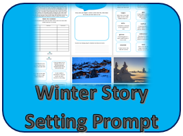 Winter Story Setting Prompt thumb