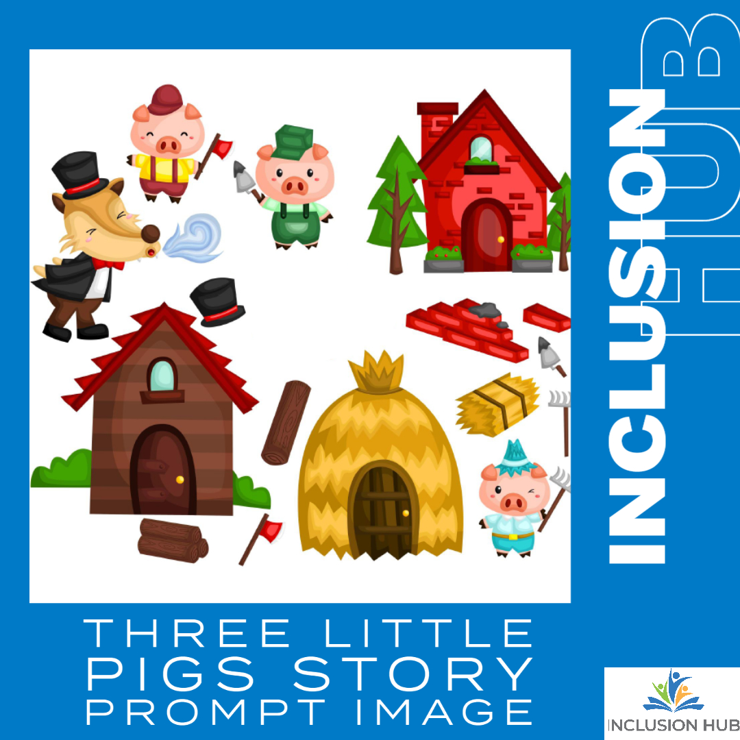 3 little pigs image Crossword