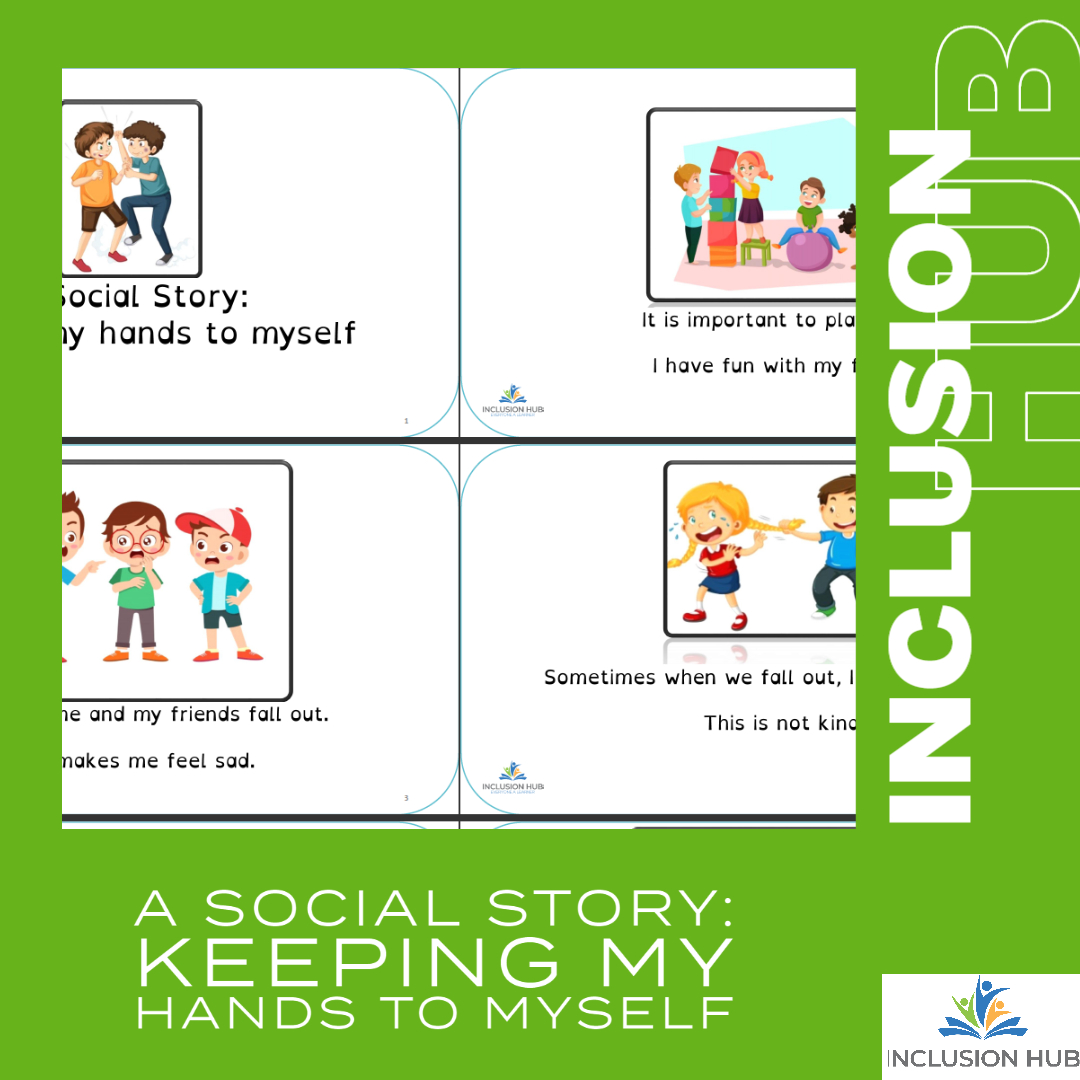 A Social Story_ Keeping hands to self