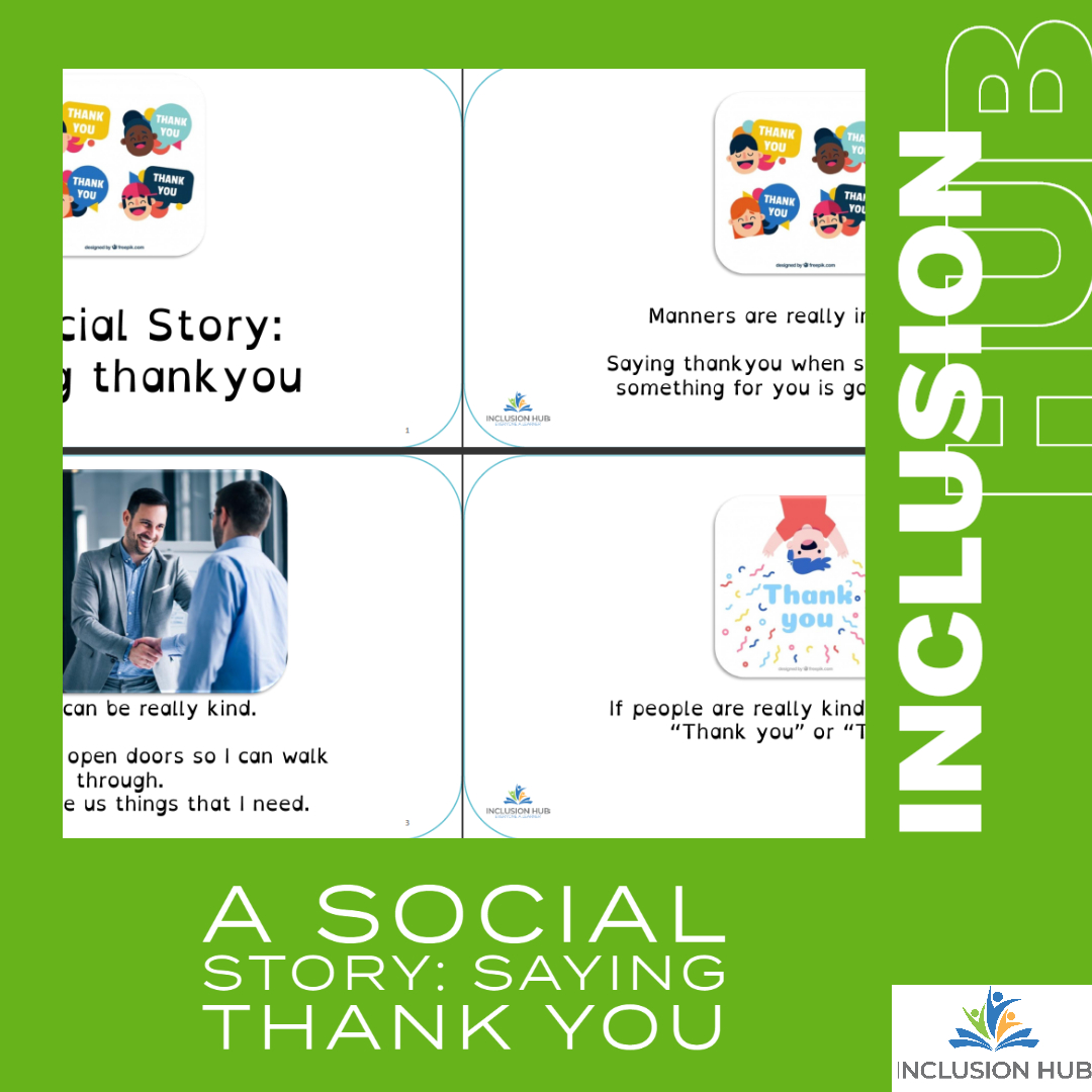 A Social Story_ Saying Thank you