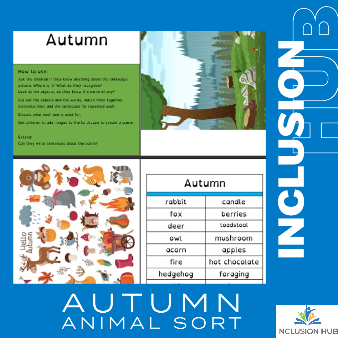 Autumn Animal Sort