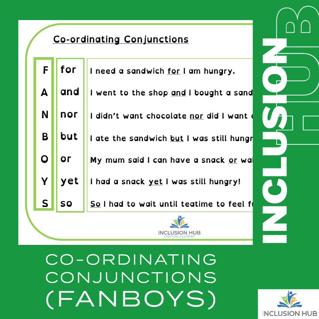 Co-ord conjunctions