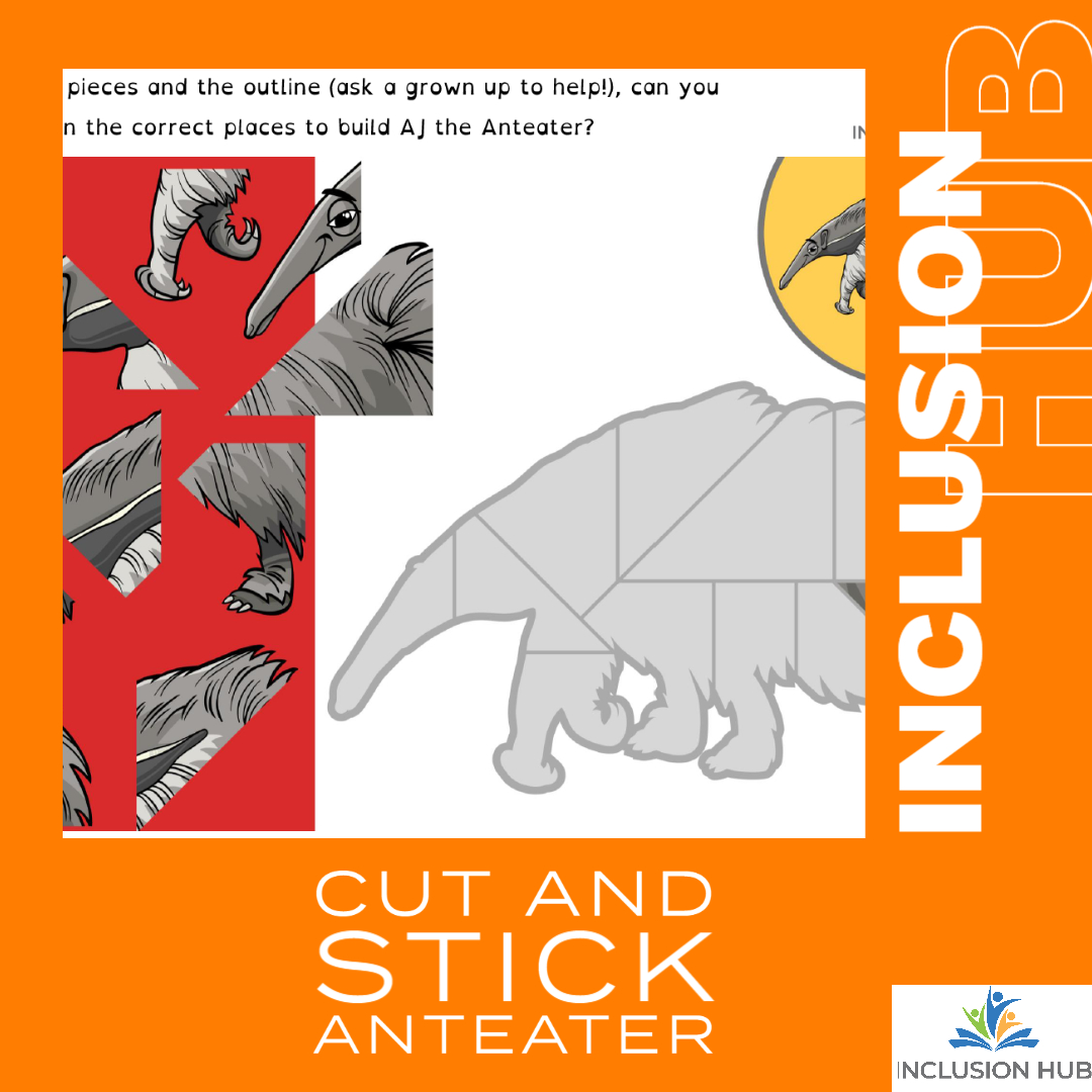 Cut and Stick Anteater