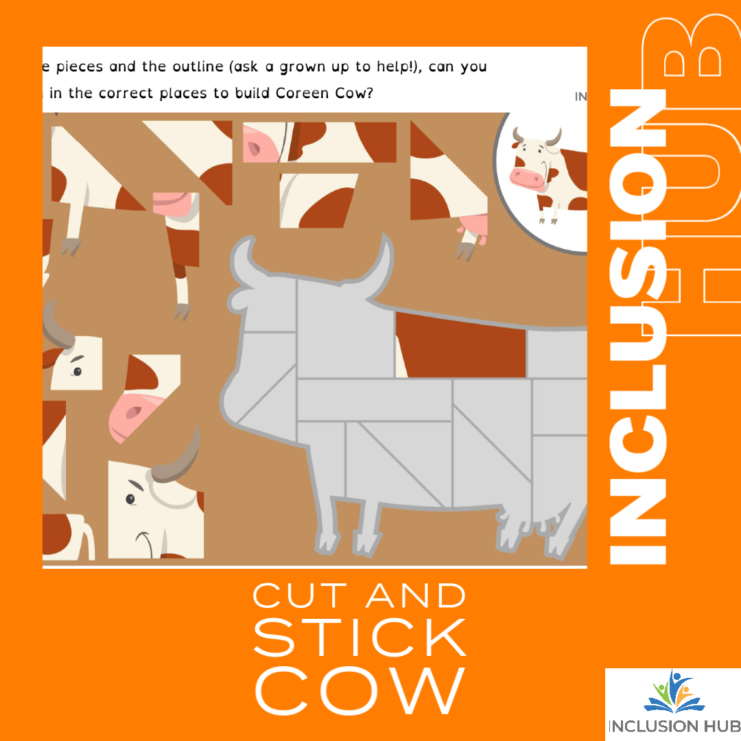 Cut and Stick Cow