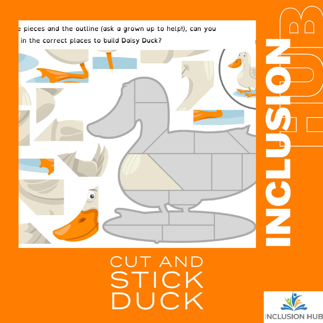 Cut and Stick Duck