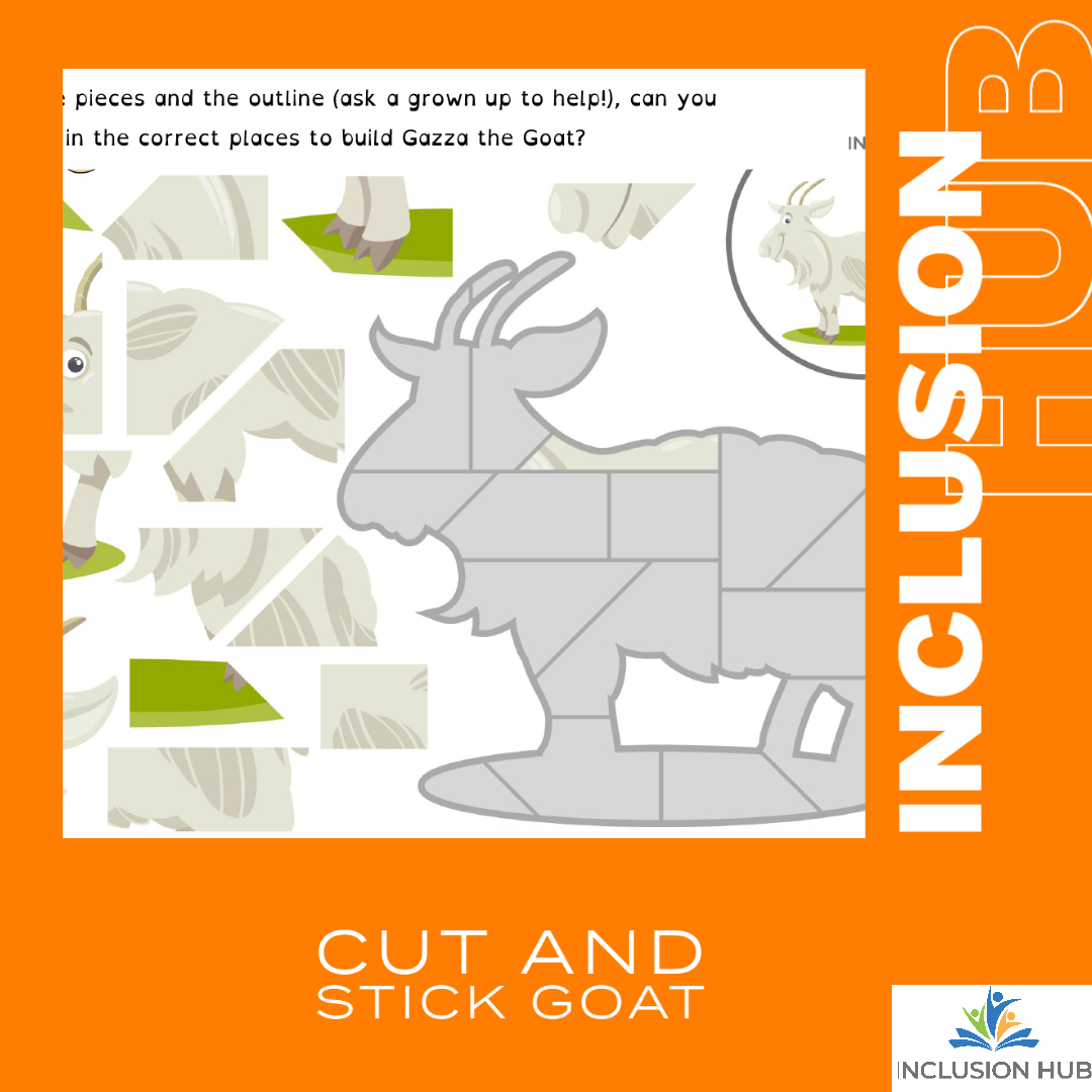 Cut and Stick Goat