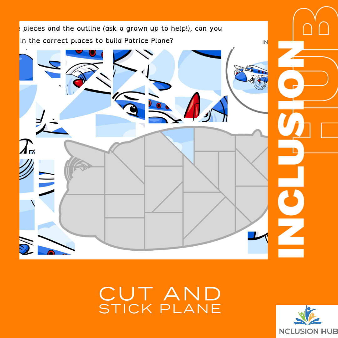 Cut and Stick Plane