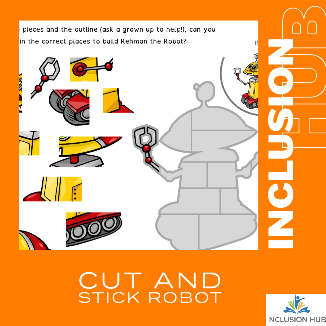 Cut and Stick Robot