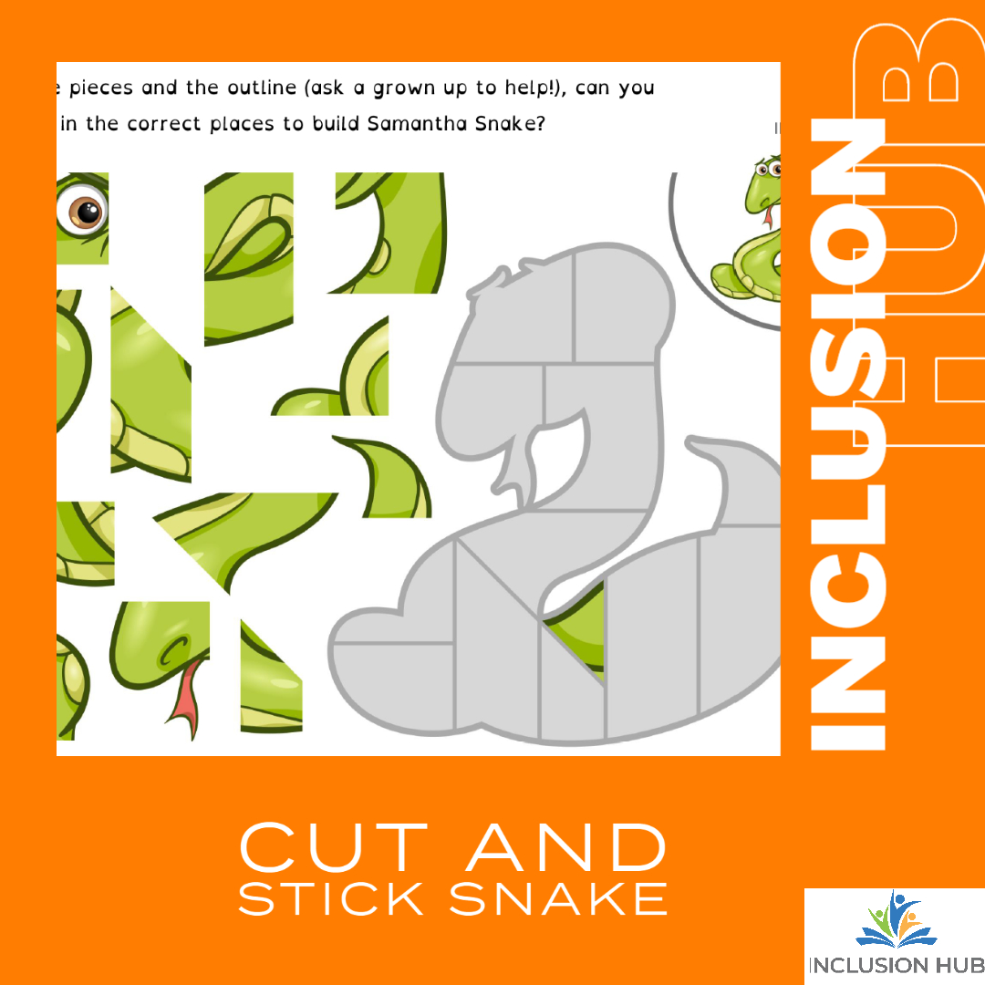 Cut and Stick Snake