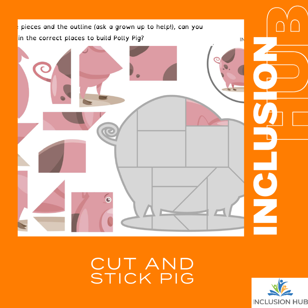 Cut and Stick pig
