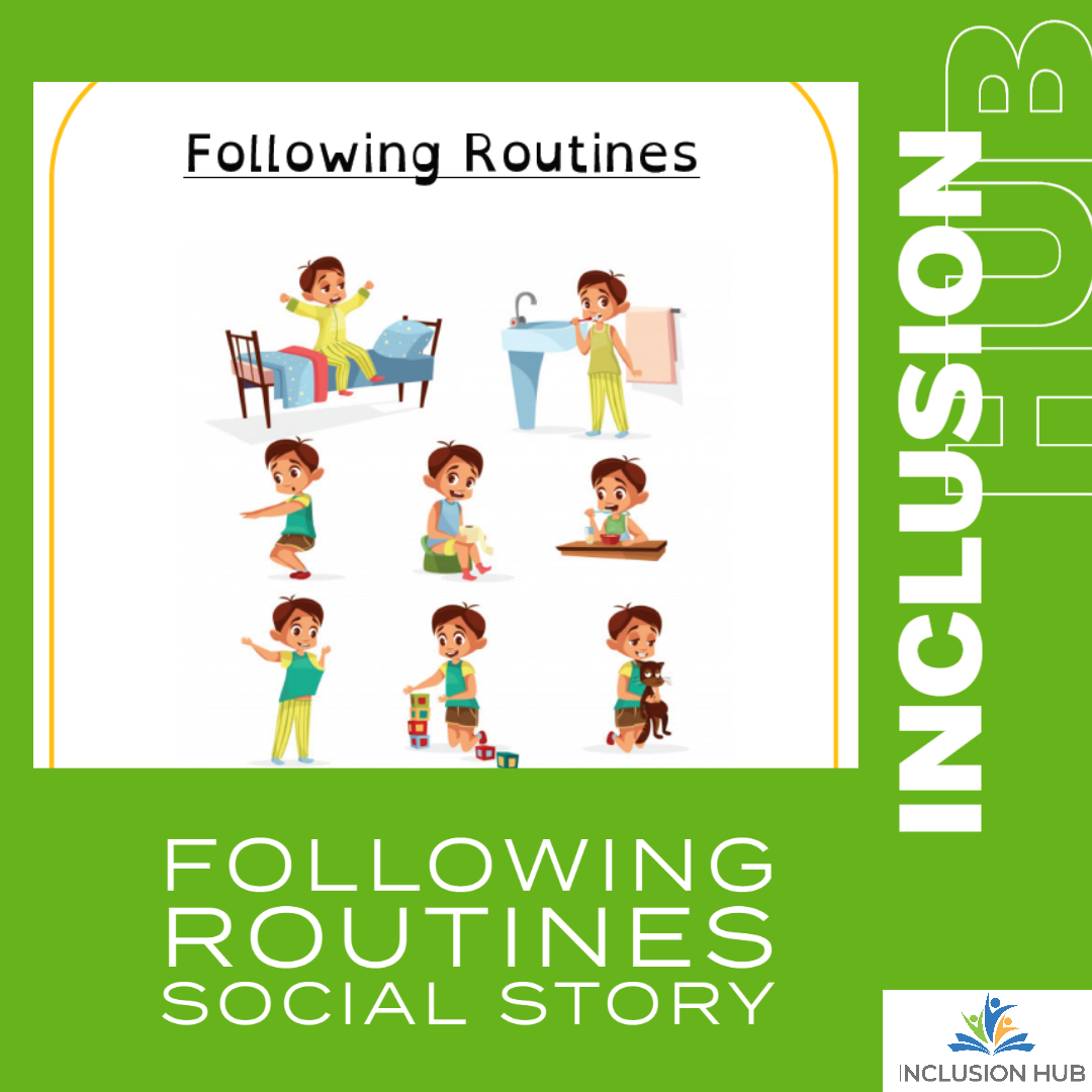 Following Routines Social Story