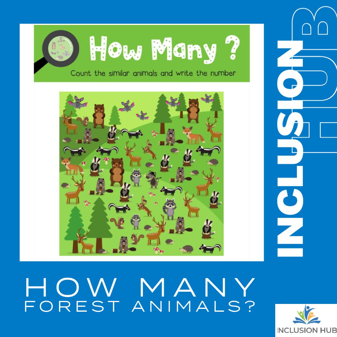 How Many Forest Animals