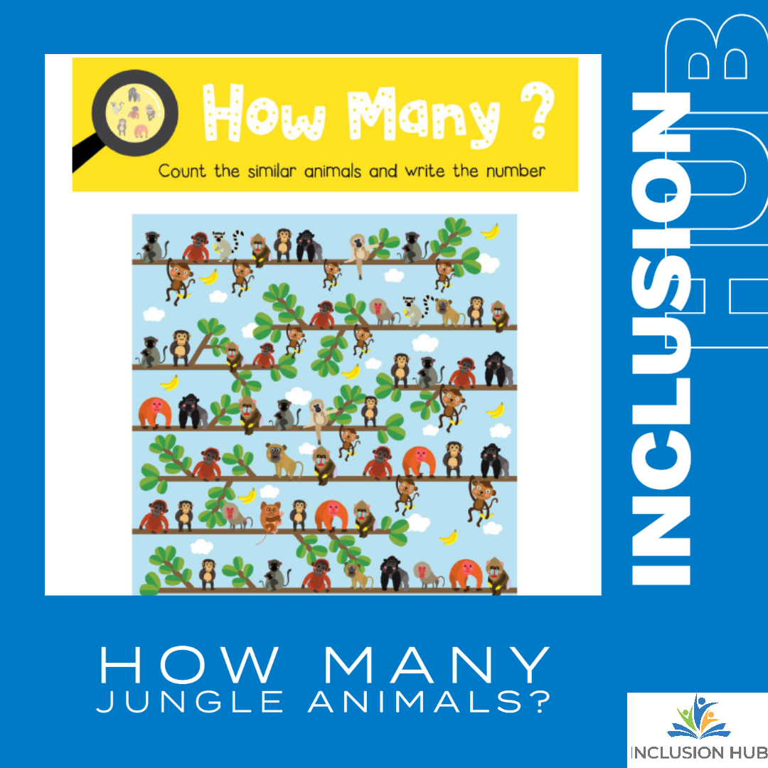 How Many Jungle Animals