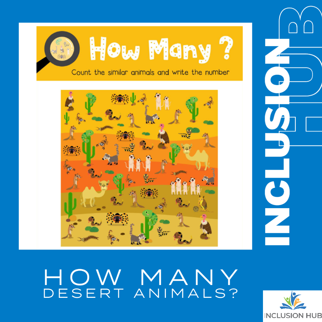 How Many desert Animals