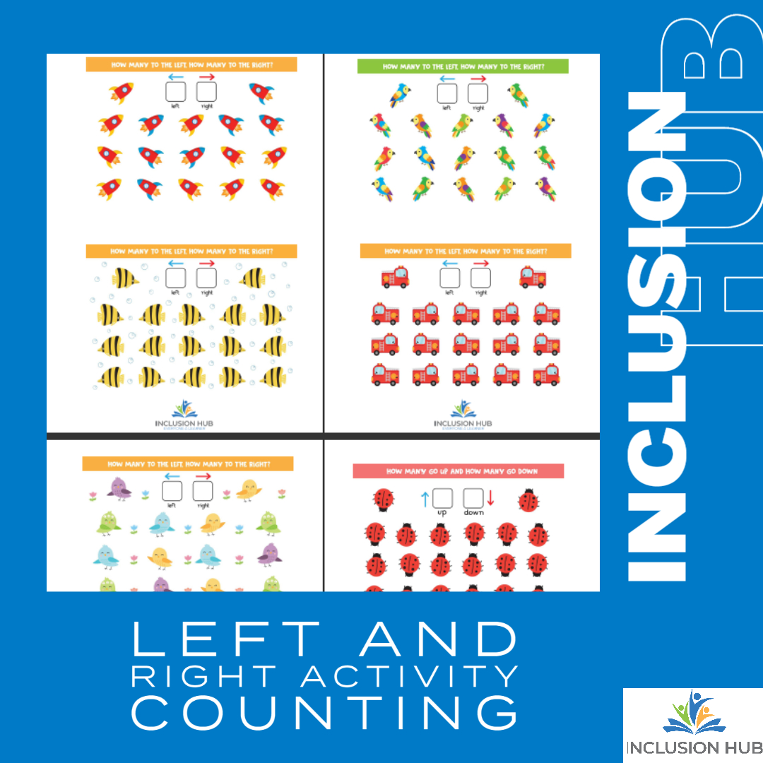 Left and Right Activity Counting