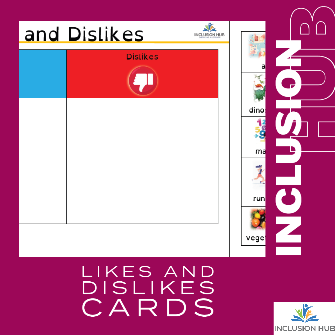Likes and Dislikes Cards