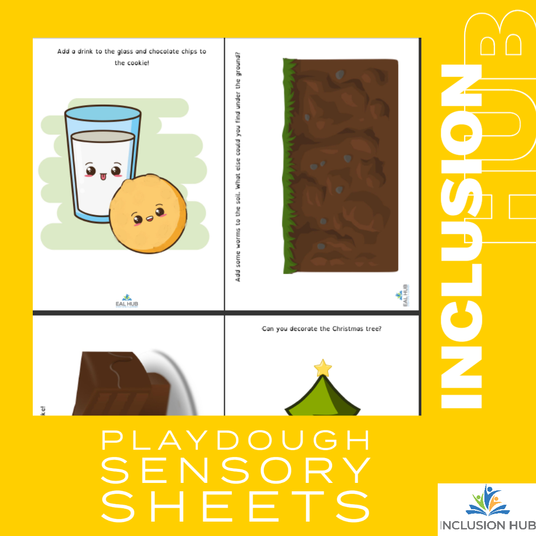 Playdough Sensory Sheets