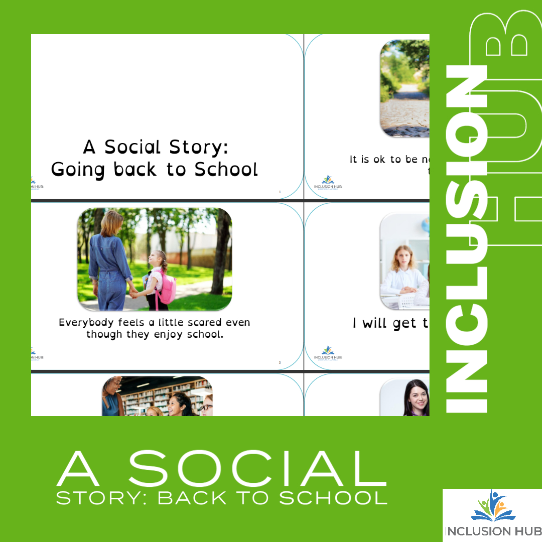 Social story back to school