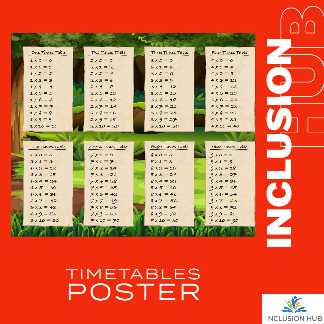Timetables Poster