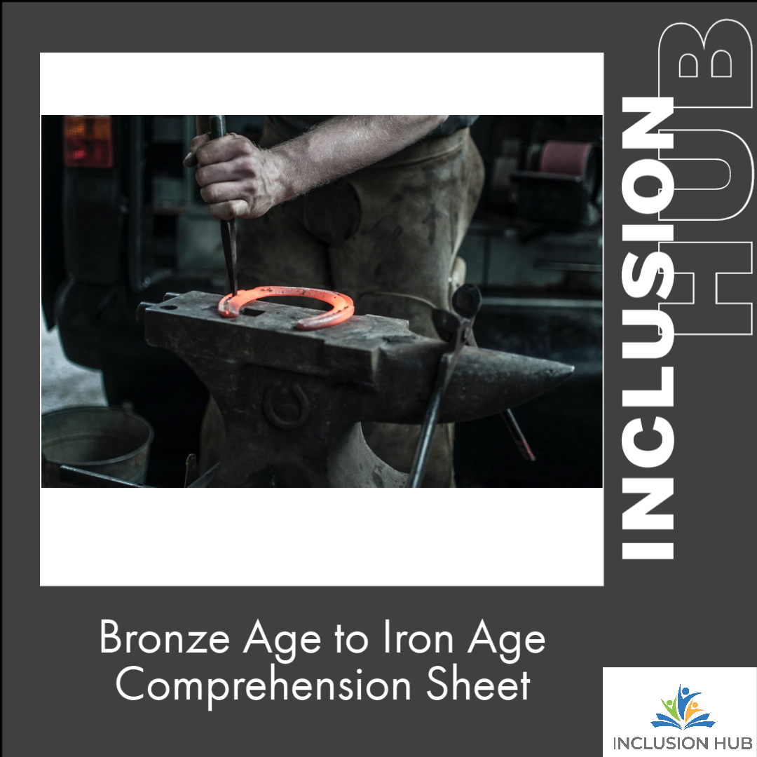 Bronze Age to Iron Age